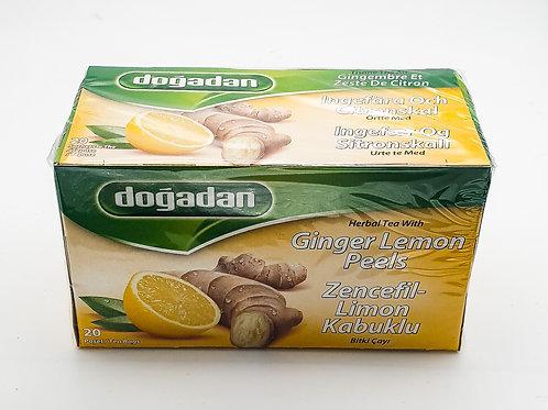 WS- Dogadan Ginger, Lemon Tea 20 bagsX12