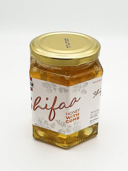 WS- Shifaa Honey With Comb (340gX12)