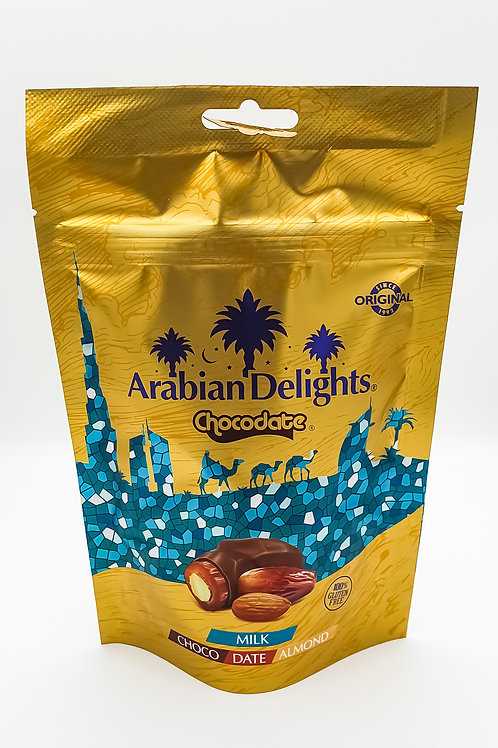 Arabian Delights Milk Chocodate 100g