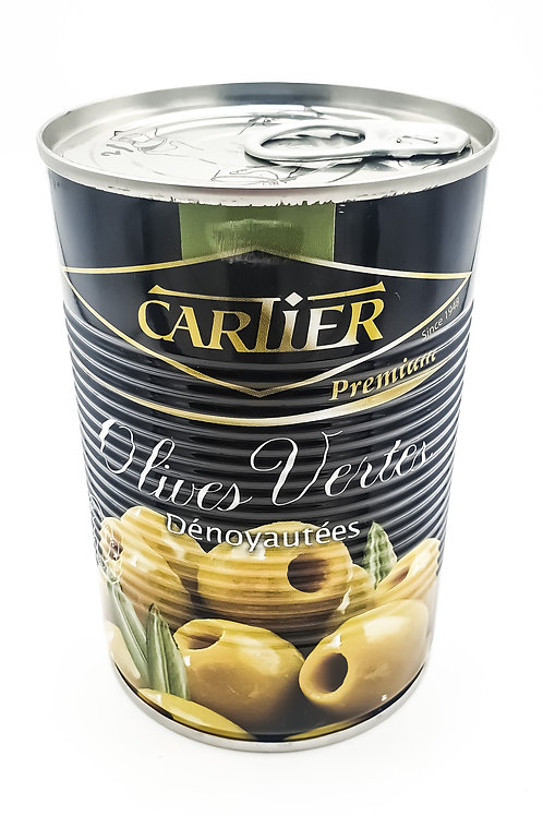 Cartier Pitted Green Olives 454g