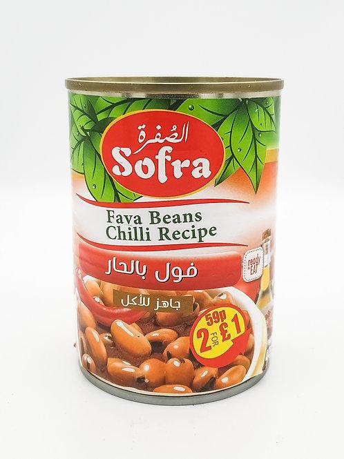 Sofra Fava Beans Chili Recipe 400g