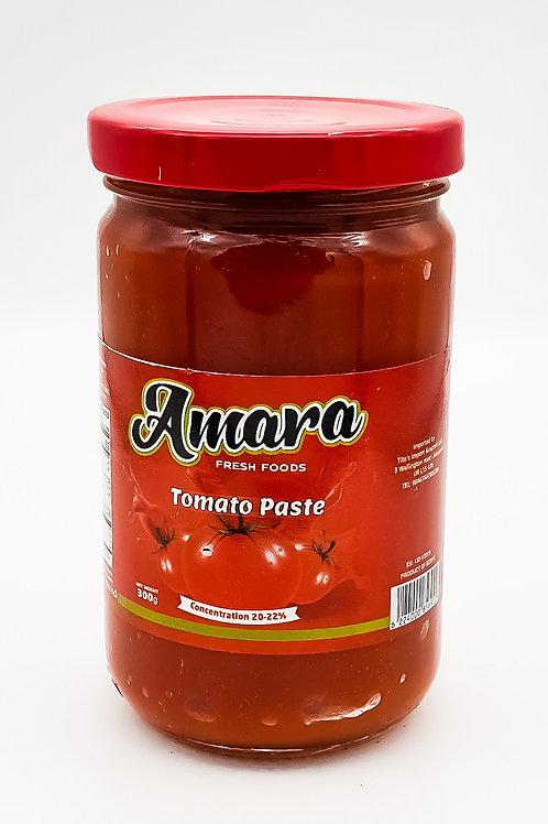 Amara Tomato Puree Jar 300 g (pack of 2)