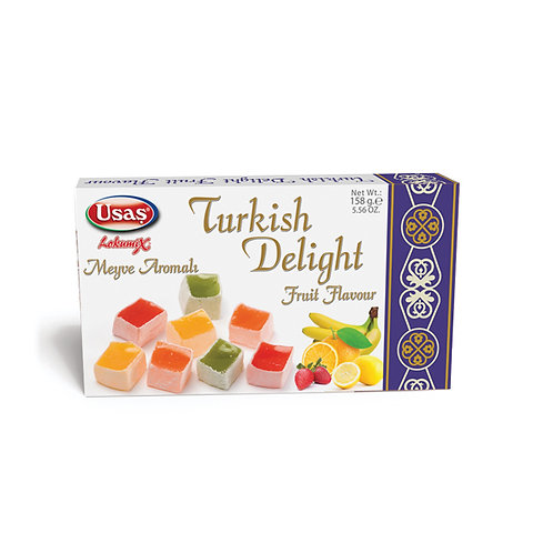WS- Usas Turkish Delight with Fruit Flavour 350g