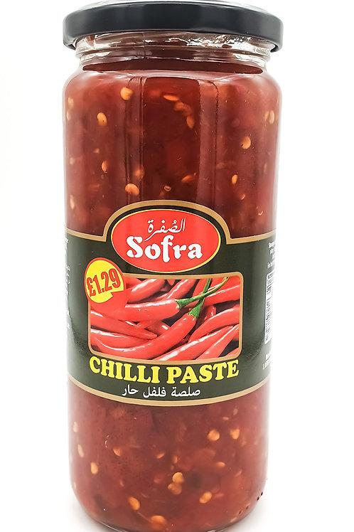 Sofra Red Chilli Paste 480g