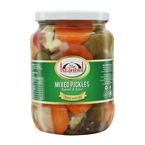 WS-Istanbul Mixed Pickles Sweet & Sour 12X680G