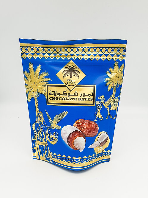Siafa Chocolate Date with coconut 100g