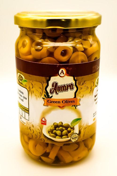 WS-Sliced Green Olives 1KGX12