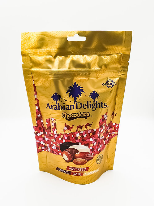 Arabian Delight Chocodate Assorted 100g