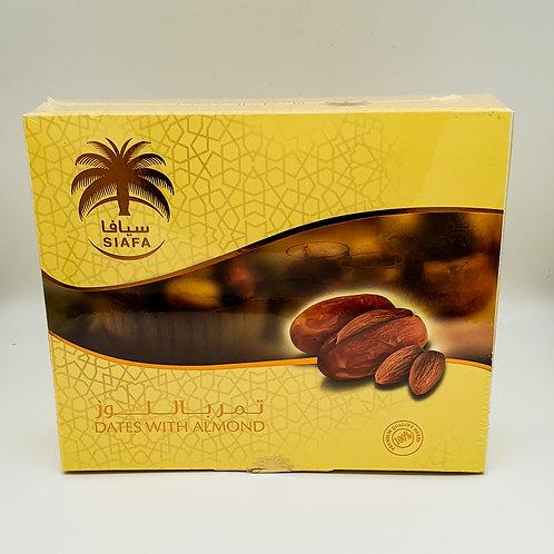 WS- Siafa Premium Dates with Almond 300gX10