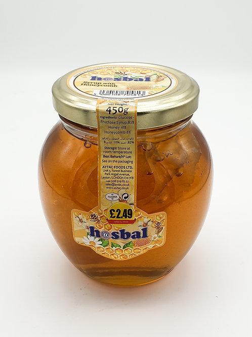 Hasbal Honey with Comb 450g