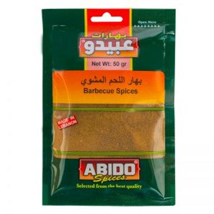 WS-Abido Barbecue Spices 10X50G