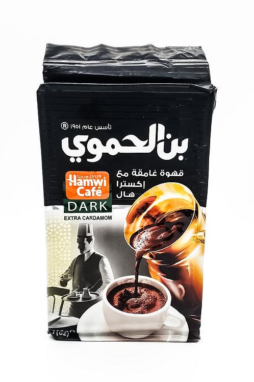Hamwi Dark Coffee with Extra cardamon 200g