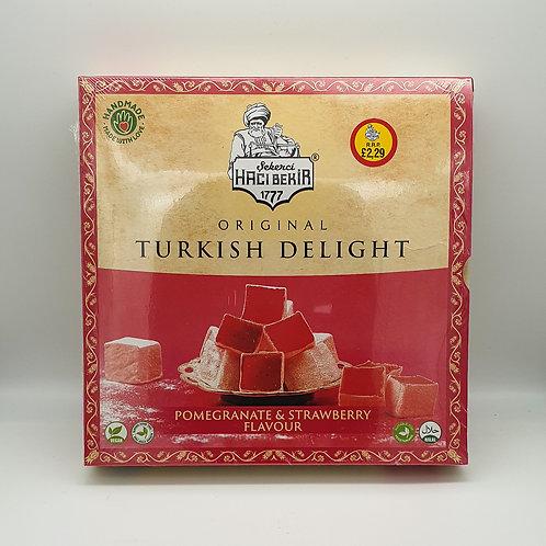 Pomegranate & Strawberry Flavour Turkish Delight 350g