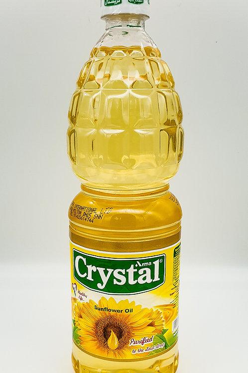 Crystal Sunflower Oil 1 L