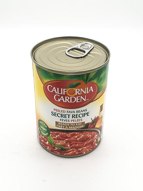 WS- California Garden fava bean Secret Recipe 400 gX12