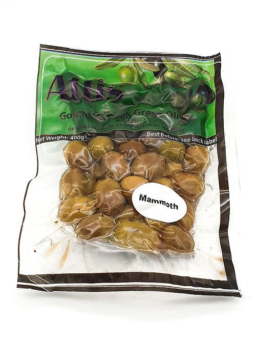 Attis Green Mammoth Olives 400g