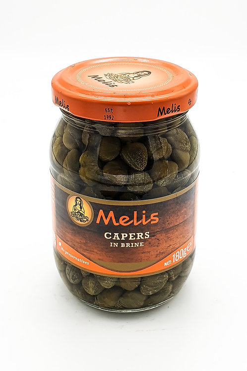 WS- Melis Capers Pickles 190cl X 6