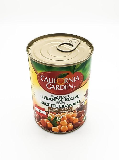 WS- California Garden Fava Beans Lebanese Recipe 400gX12