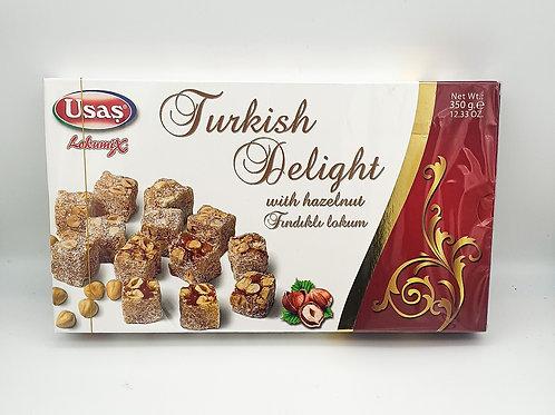 WS-Usas Turkish Delight with Hazelnut 350g