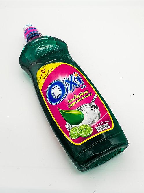 Oxi Dishwashing Liquid Green Lemon 650ml