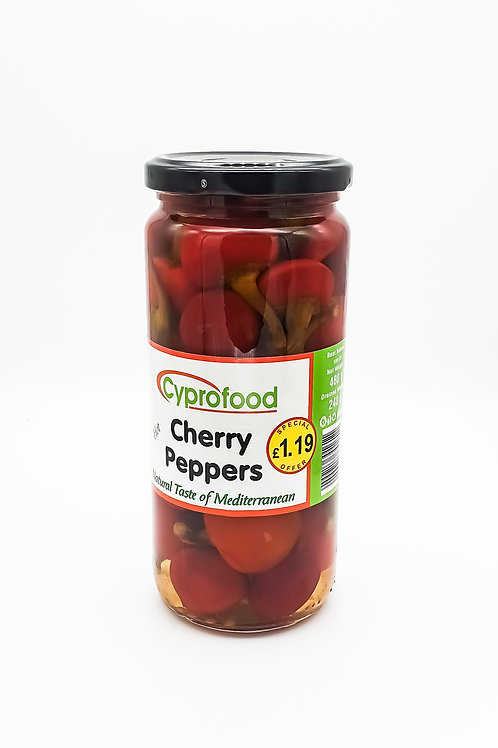 WS- Cherry Peppers Jar (500mlx12)
