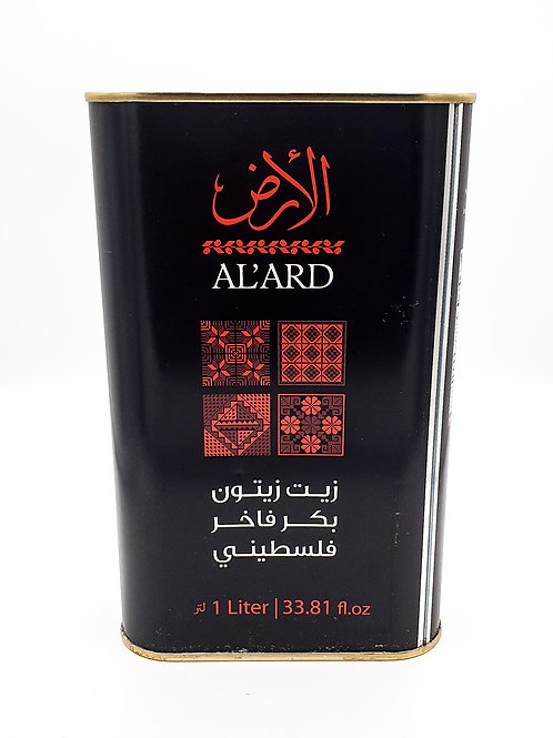 WS-Al'ArdPalestinian Organic Extra Virgin Olive oil one Litre x12