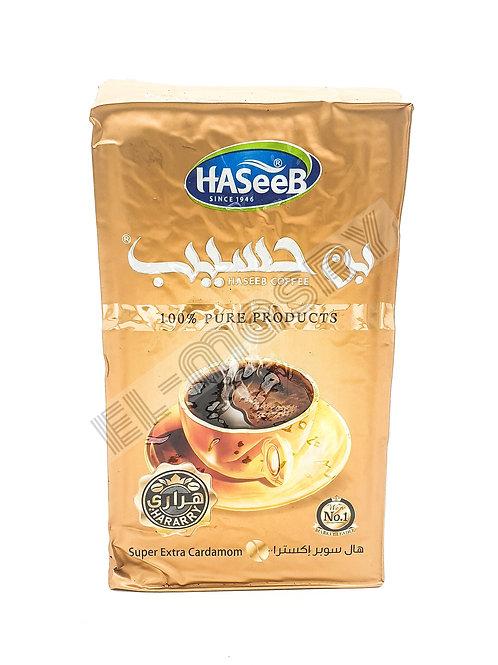 WS-Haseeb GOLD Super Extra Cardamom Coffee 500GX10
