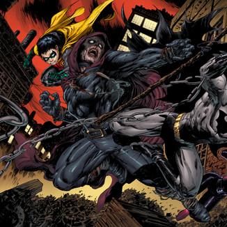 Batman 704 pages 4,5