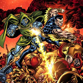 Essential Super-Villain Team-up Cover