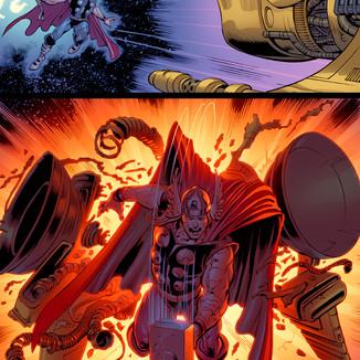 Upper Deck The Avengers: Kree-Skrull War Trading Cards page 4