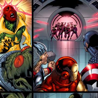 Upper Deck The Avengers: Kree-Skrull War Trading Cards page 8