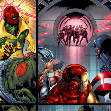 Upper Deck The Avengers: Kree-Skrull War Trading Cards page 8