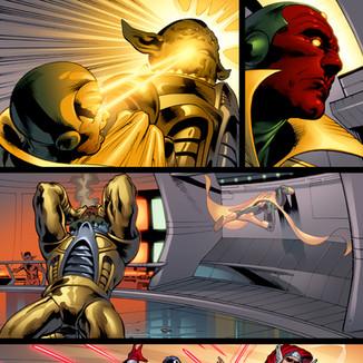 Upper Deck The Avengers: Kree-Skrull War Trading Cards page 7