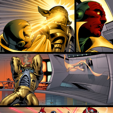Upper Deck The Avengers: Kree-Skrull War Trading Cards page 7