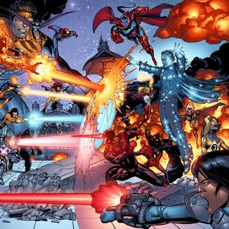 X-Men: The End 3 pages 5,6