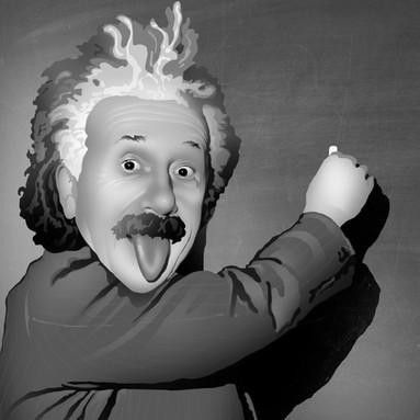 Goofy Einstein