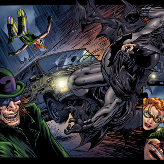Batman 706 pages 4,5