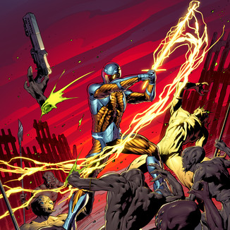 X-O Manowar Miscellaneous Cover