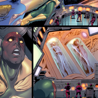 Upper Deck The Avengers: Kree-Skrull War Trading Cards page 5