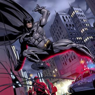 Batman 710 page 4,5