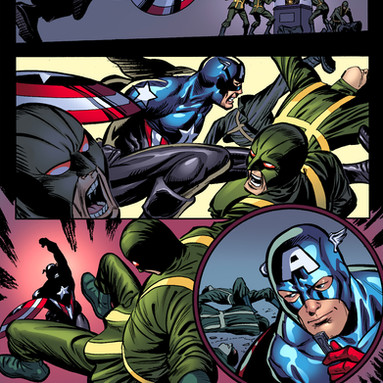 Captain America: Hail Hydra 5 page 1