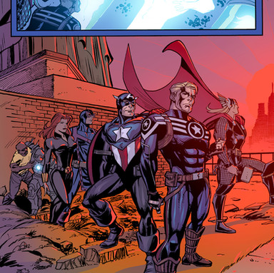 Captain America: Hail Hydra 5 page 22