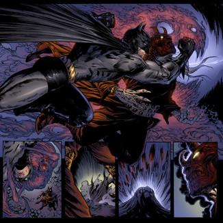 Batman 707 pages 12,13