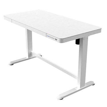 All-in Sit-stand Desk - White