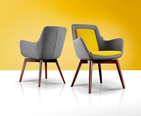 Klyro Meeting Chair & Pouf
