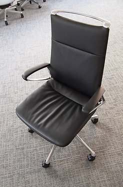 Executive Meeting Chair - Grey Fabric