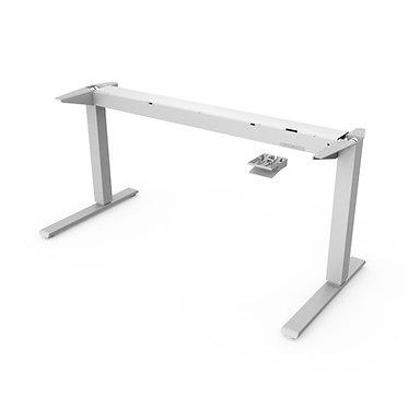 Float Desk Frame 1600w - White