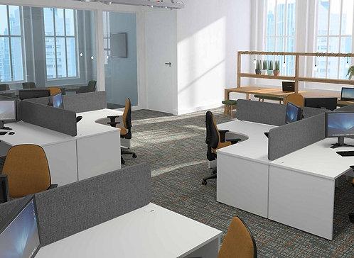DK Panel End Desk