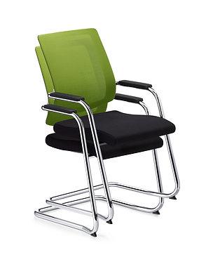 Black Dot Meeting Chair