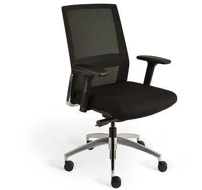 Nero Mesh Back Chair
